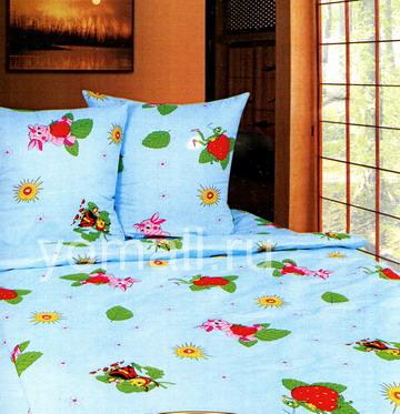 Детское постельное белье Мультик Лунтик от магазина Yomall - Седьмой Сон