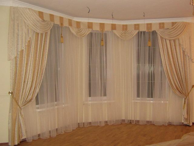 дизайн оконного текстиля