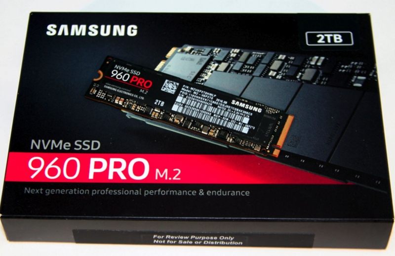 Samsung 960 PRO 2TB PCIe NVMe M.2 SSD MZ-V6P2T0BW