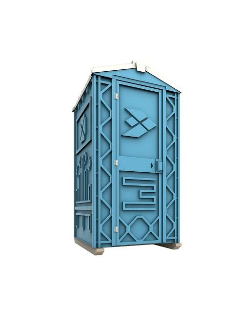 Новая туалетная кабина Ecostyle - экономьте деньги Афины.